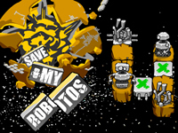 Save My Robots Game