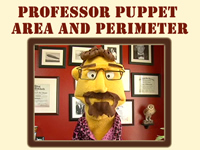 Professor Puppet Area and Perimeter